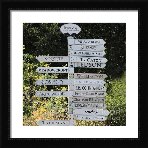 sign, signs, vineyard sign, vineyard signs, winery sign, winery signs, street sign, street signs, vineyard, wine, grape, winery, sonoma, california, ca, napa, glen ellen, muscardini, st francis, benziger, meadowcroft, robledo, arrowwood, talisman, kenwood, chateau st jean, br cohn, wellington, deerfield, history, historic, historical, bayarea, bay area, wine country, wineries, wines, vineyards, sonoma valley, sonoma wine country, zinfindel, cabernet, rural, countryside, vintage, the, and, on, square, size, sizes, wing tong, wingsdomain