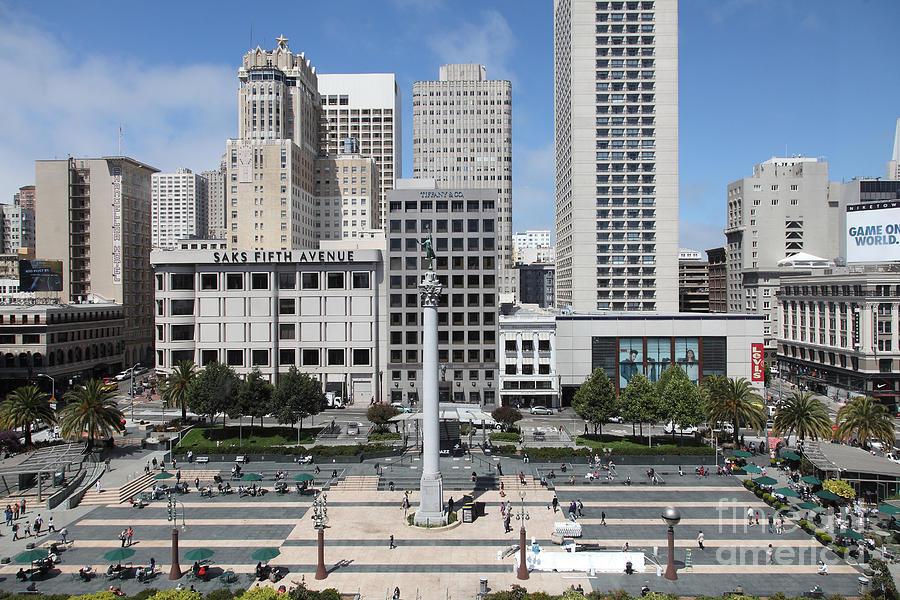 San Francisco Sf Bayarea Bay Area George Dewey Monument Obelisk