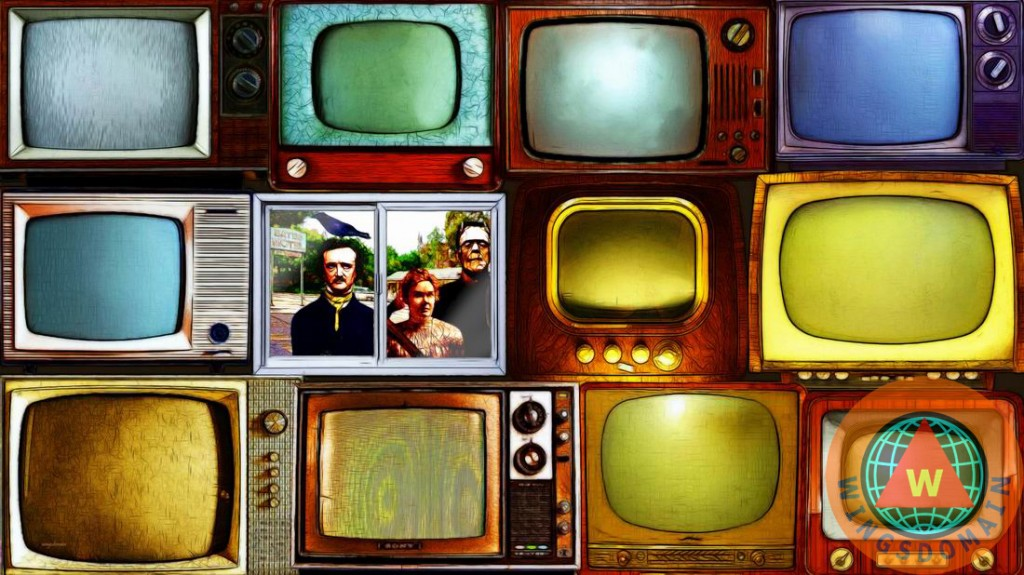 tv,television,televisions,entertainment,old tv,horror,b,movie,movies,horror movies,b movie,b movies,frankenstein,lizzy,liz,lizzie,lizzi,borden,bordon,lizzie borden,edgar allan poe,poe,alfred hitchcock,youtube,electronics,monitor,monitors,cable tv,internet,nostalgic,nostalgia,collectible,humor,humorous,kitsch,kitschy,whimsy,whimsical,pop,pop art,andy warhol,window,apple tv,crt,satire,satirical,fun,funny,color,colorful,retro,old,raven,classic,the,and,or,long,wide,size,sizes,wing tong,wingsdomain
