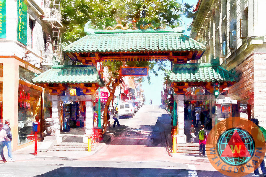 Buy Chinatown Gate on Grant Avenue in San Francisco by