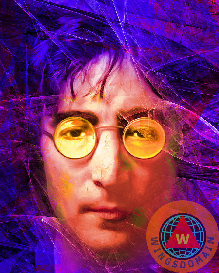 Buy John Lennon Imagine By Wingsdomain Art And Photography Fine Art Prints On Museum Quality Photo Paper Metal Or Canvas