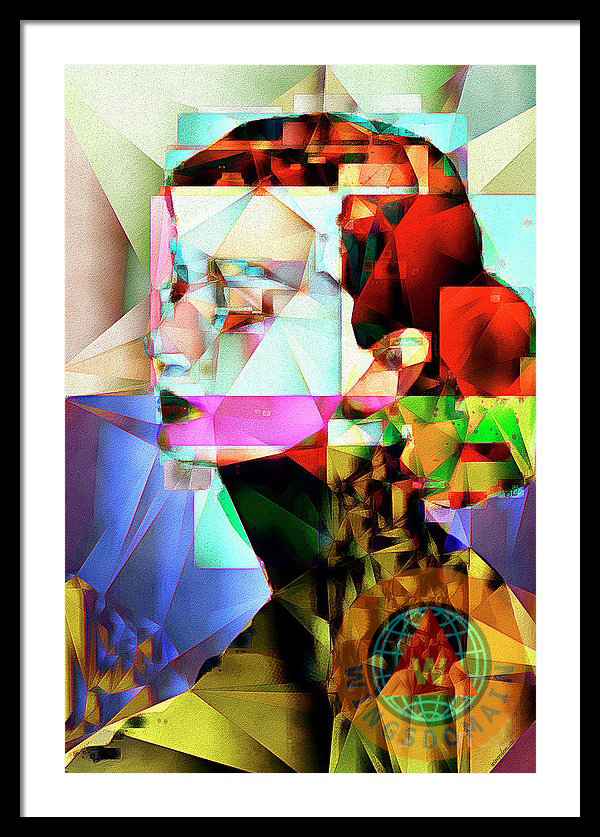 Buy Audrey Hepburn In Abstract Cubism By Wingsdomain Art And