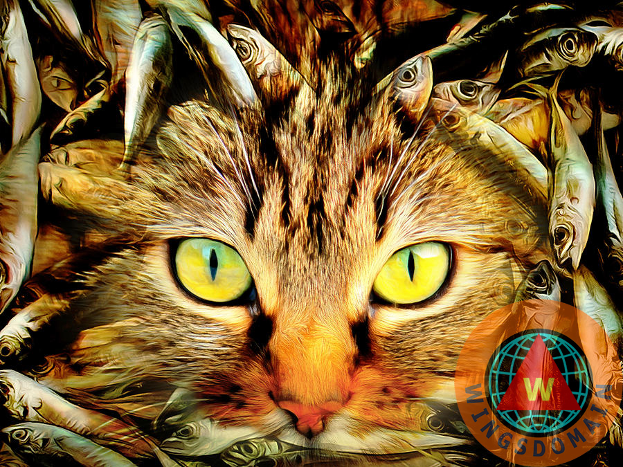 Buy Purchase When Cats Dream Museum Quality Metal Print by ...
